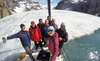 Dotkneliśmy paku lodowego w jednym z fiordów!