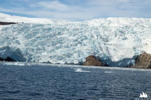 W Lindenows fiord lodowców jest sporo