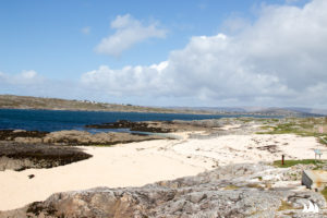 Plaża koralowa w okolicach Galway