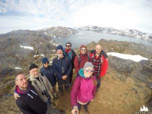 Grupenfoto na samym szczycie