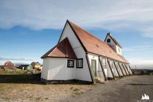 Kościółki na Grenlandii wszędzie są ładne