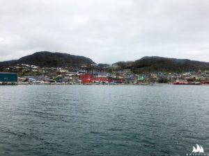 Dopływamy do Qaqortoq