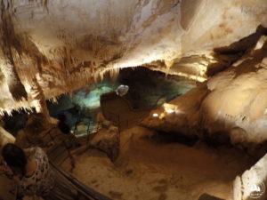 Wchodzimy do Crystal Cave