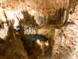 Stalaktyty w Fantasy Cave