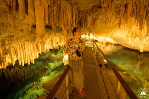 Ola w Crystal Cave
