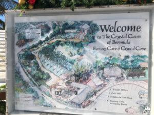 Mapa Crystal & Fantasy Caves, Bermuda