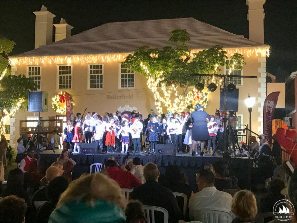 Występy na St. George Christmas Walkabout