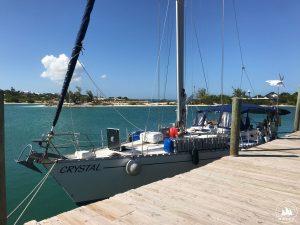 S/V Crystal znowu w tropikach - marina w Turks i Caicos, Karaiby