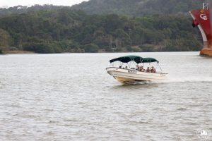 Na jeziorze Gatun turystyka w rozkwicie