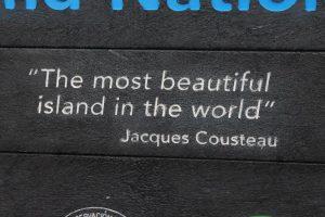 """""""Najpiękniejsza wyspa świata"""" Jacques Couseau"""