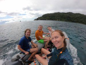 Drugiego dnia wybraliśmy się na nurkowanie