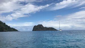 Jacht S/V Crystal skiff morze