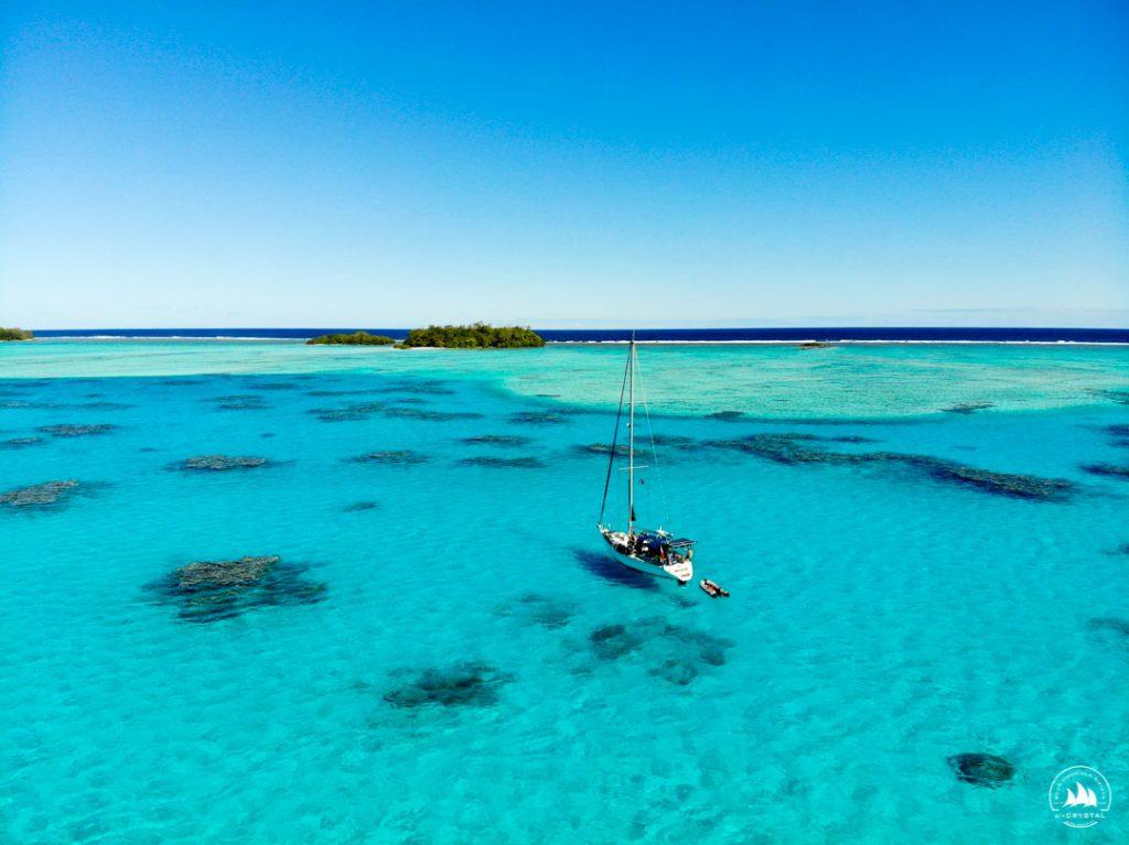 Jacht Crystal rejs morski Polinezja Francuska