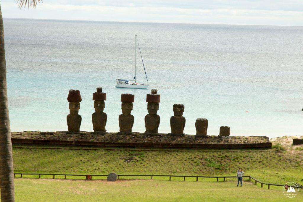 Yacht Crystal Anakena Easter Island