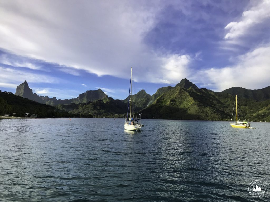 jachty moorea polinezja francuska zatoka cooka