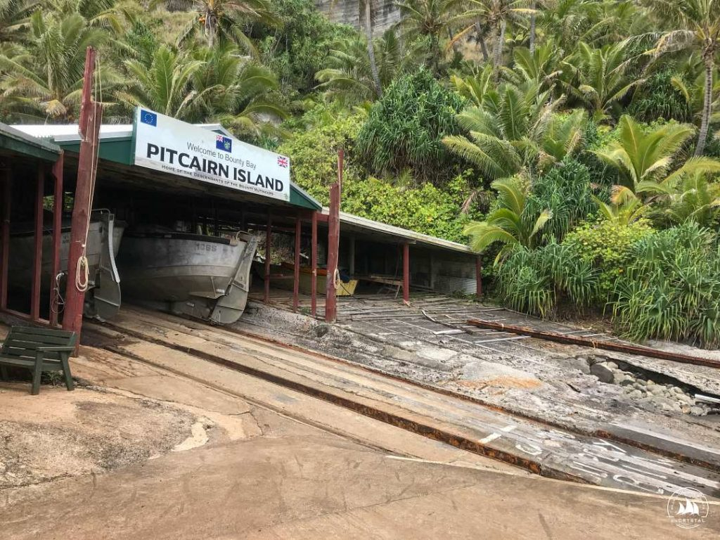 Pitcairn-wjazd