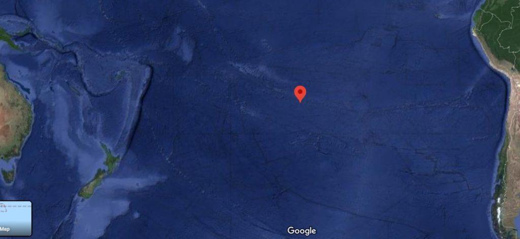 Wyspa Pitcairn na Pacyfiku
