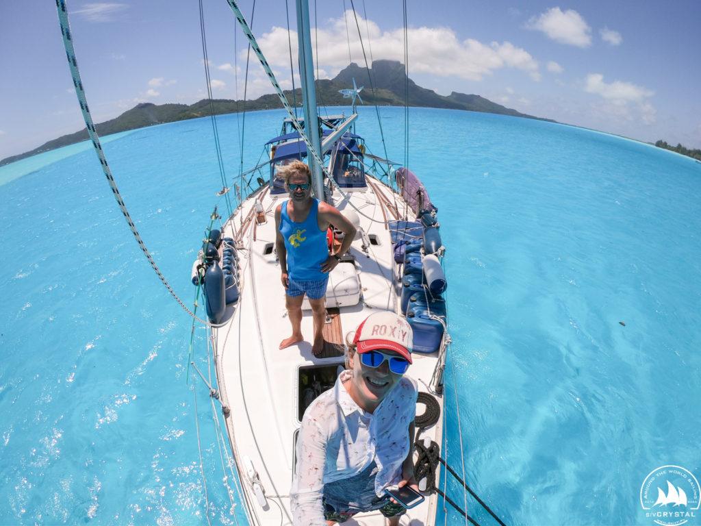Jacht Crystal na Bora Bora