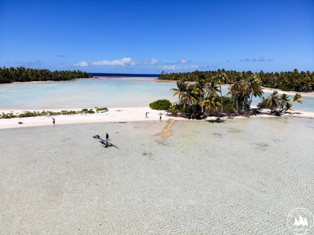 Jacht Crystal atol Fakarava
