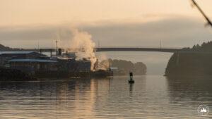 Port Kodiak o świcie