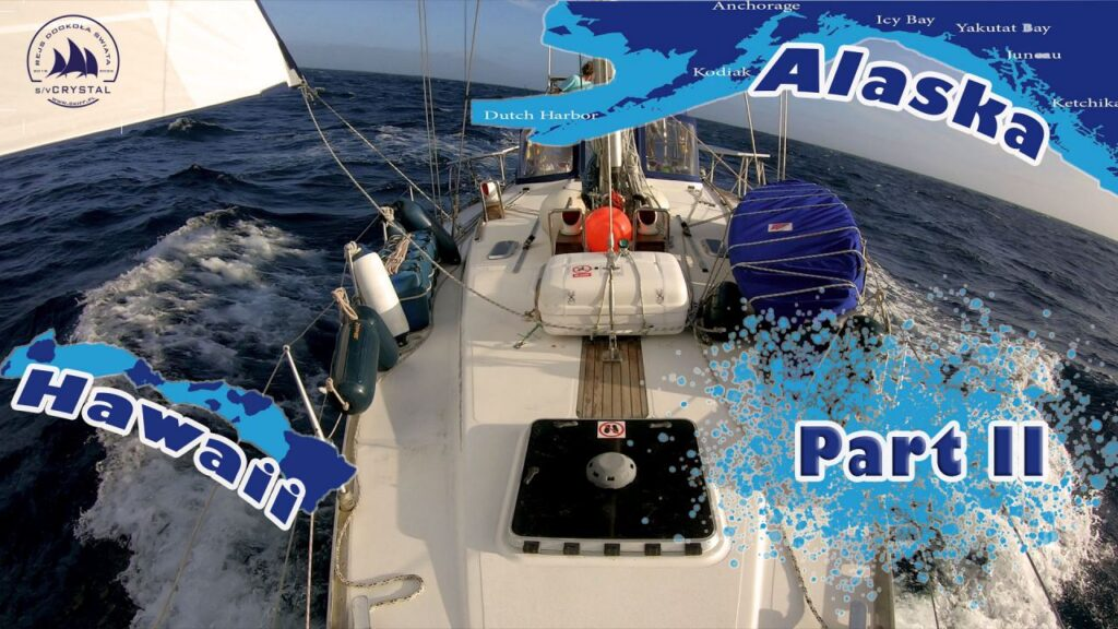 jacht po żaglami ocean Pacyfik