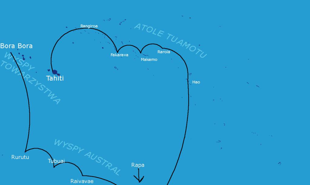 Rejs jachtem na Polinezji Francuskiej