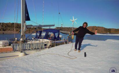 Jacht Crystal w Arktyce