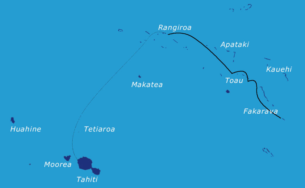Rejs sylwestrowy na Polinezji Francuskiej
