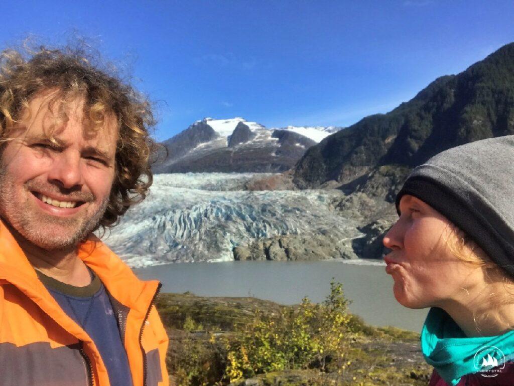 lodowiec Mendenhalla Alaska Ola Michał