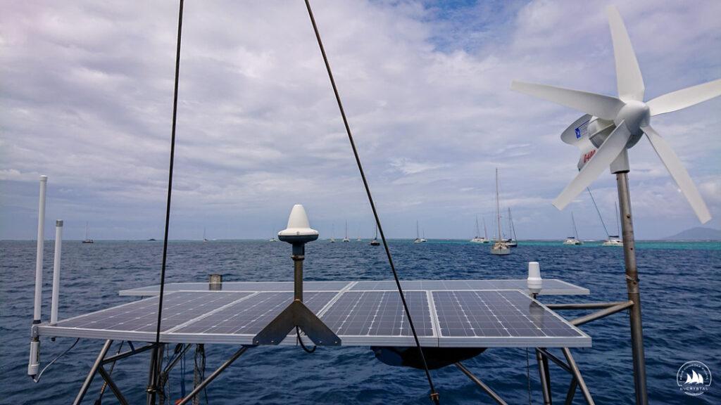 Odnawialne źródła energii na jachcie